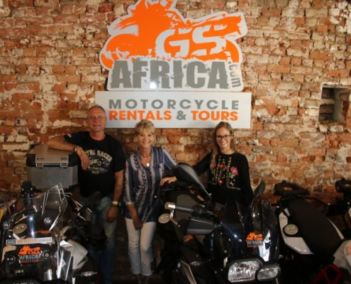 GS Africa New Premises - GS Africa Team - GS Africa Motorcycle Rentals and Tours