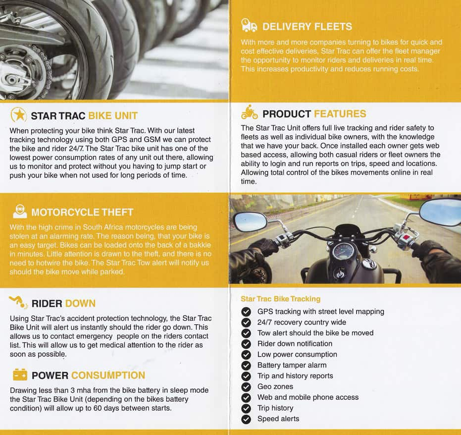 Bike Tracking Gs Africa Motorcycle Battery Monitor Download The Brochure Here
