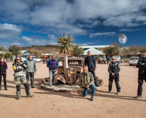 Charley Boorman and Billy Ward in Africa - GS Africa Motorcycle Tours
