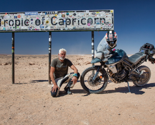 Billy Ward in Africa - GS Africa Motorcycle Tours