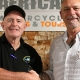 Mick McDonald (Compass Expeditions) and Paul Blignaut (GS Africa)