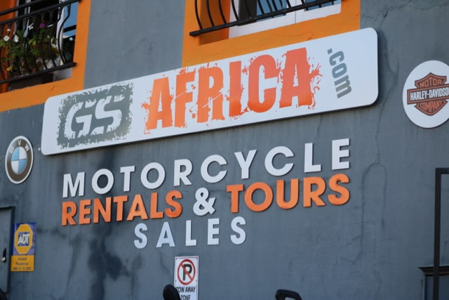 GS Africa Sales Launch - Signage