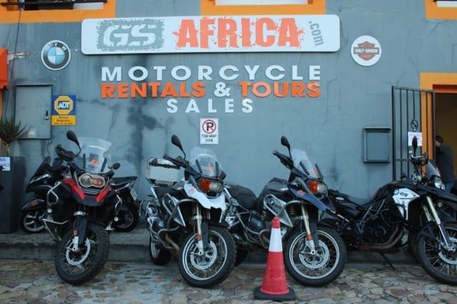 GS Africa Sales Launch - Bike Display