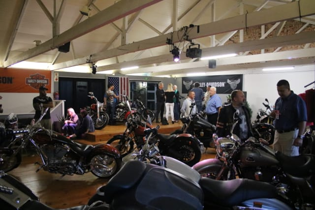 GS Africa Motorcycle Sales Launch - Upstairs Showroom