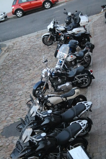 GS Africa Motorcycle Sales Launch - Streetview