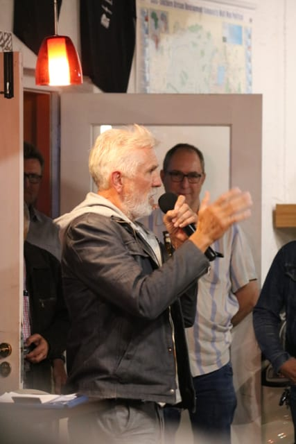 Billy Ward - Guest Speaker @ GS Africa Motorcycle Sales Launch