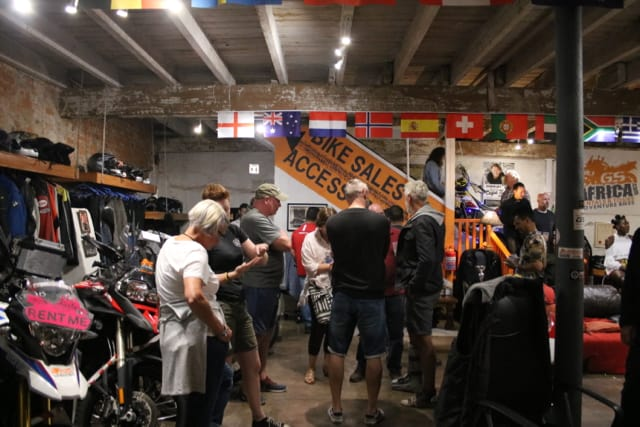GS Motorcycle Sales Launch - Downstairs Showroom