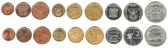 Coins in South Africa