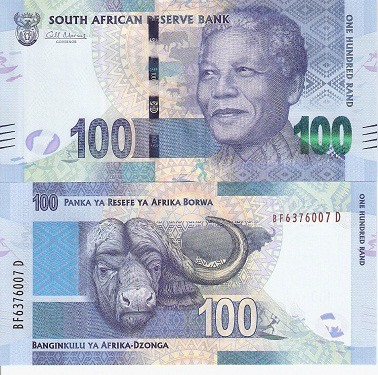 R100 South African Bank Note