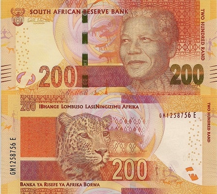 R200 South African Bank Note