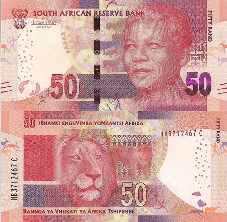 R50 South African Bank Note