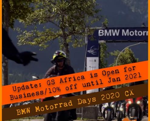 BMW Motorrad 2020 Cancelled update